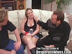 Jenna - Cuckold Husband Vinnie Eats A Cream Pie