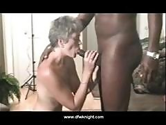 Cute Petite Granny Gets A Mouthy Introduction To His Black Dick