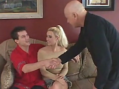 Blonde MILF Housewife Mrs. Warren Is Analized Hard