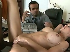 Judy Star Loves Getting Fucked By Masive Black Dick At Work