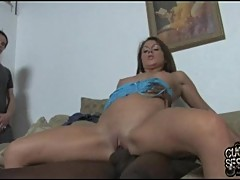 Rampant Nikki Anne gets her tight pussy hole stretched