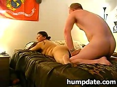 Wife gets fucked while hubby filming it
