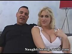 Amateur Hot Blonde fucks a Stranger in the locker room - LETSDOEIT&period