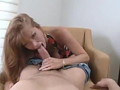 Milf redhead is cuckoo for cock meat