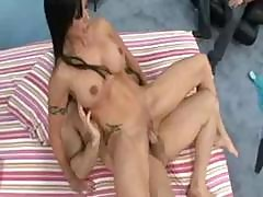 Hot Wife Fucked While Husband Watches