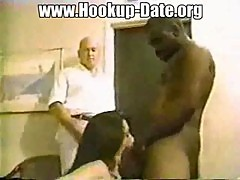 Cuckold watch fuck of his wife