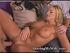 Wifey obeys new young cock